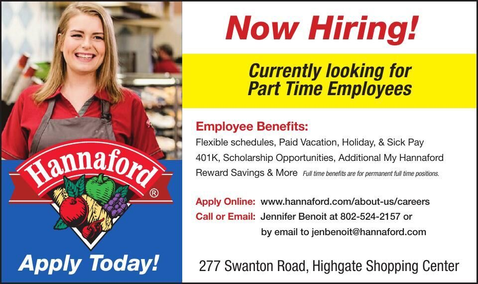 Hannaford - Now Hiring!