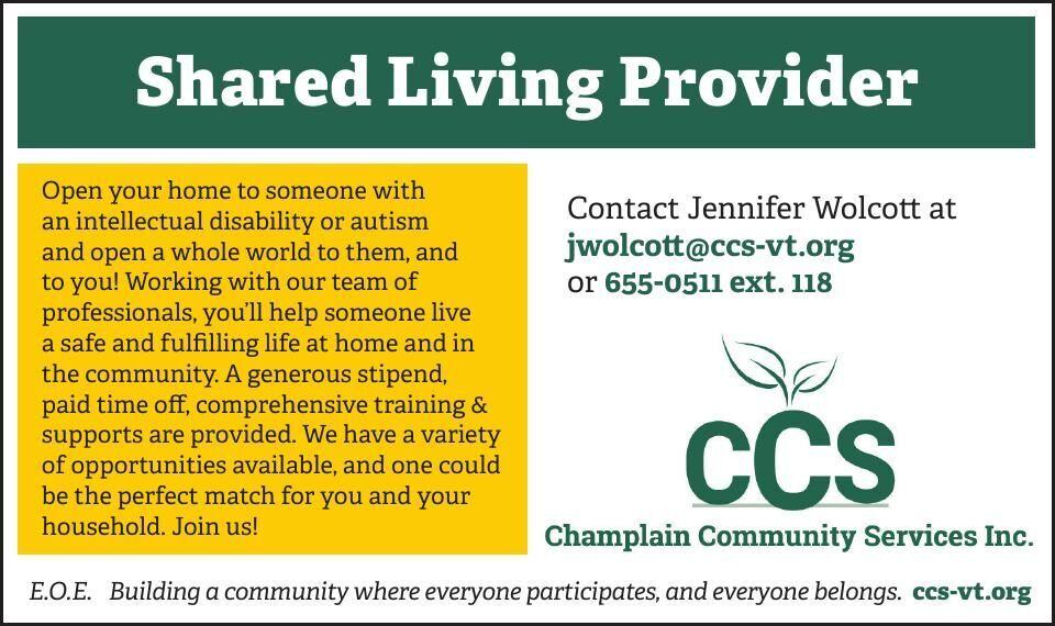 Shared Living Provider