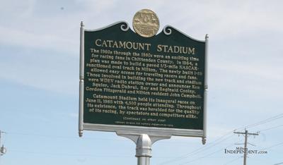 Racing fans celebrate Catamount Stadium