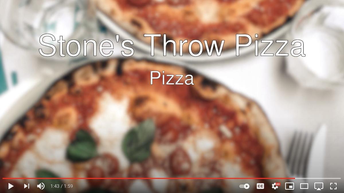 Stone's Throw Pizza YouTube