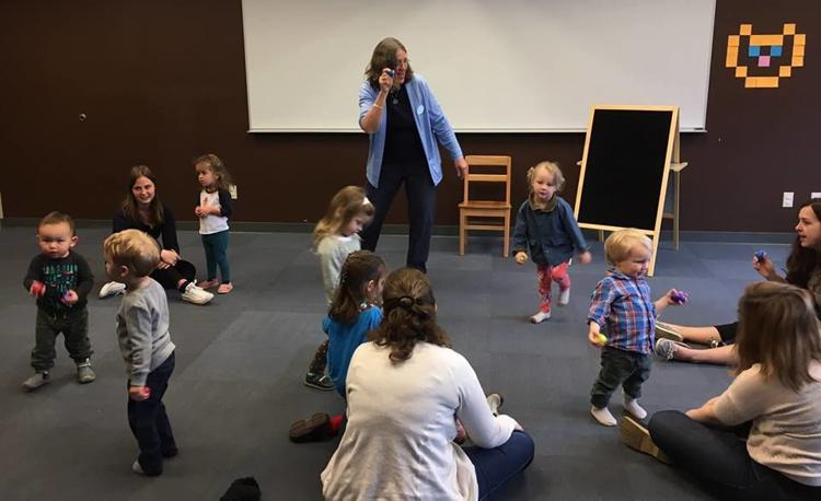 Toddler Rhythm & Movement Early Literacy Story Time at Milton Public Library