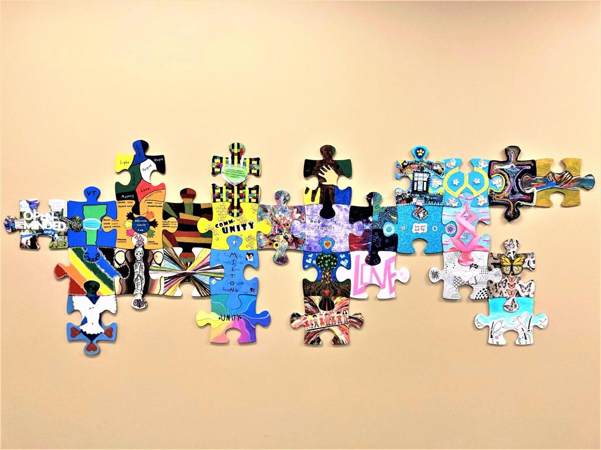 Completed Milton Unity Puzzle