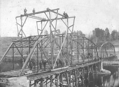 West Milton Bridge, early 20th century
