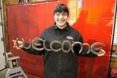 Fabricating art: Local girl welds a business