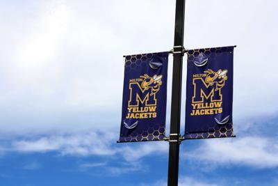 Milton Stock: Yellow Jacket Flags