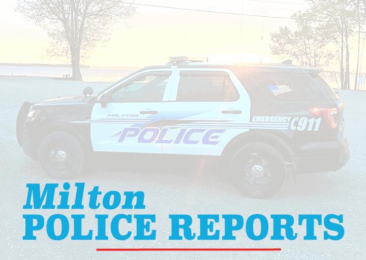 Milton Police Reports Oct 24 30 News Miltonindependent Com