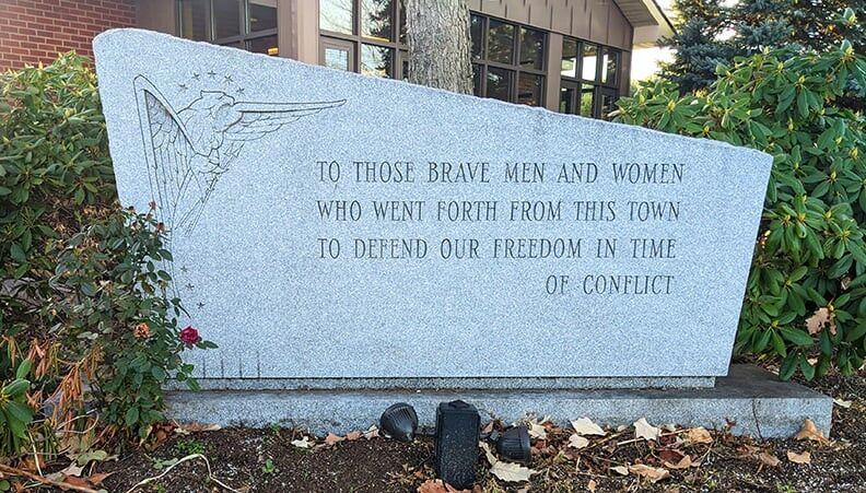 Milton's all-wars memorial