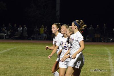 Girls kick off season with 2-1 win