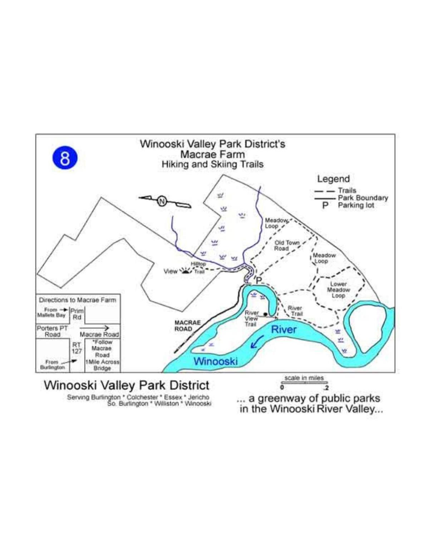 Macrae Farm Park trail map