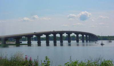 Rouses Point Bridge, Wikimedia Commons