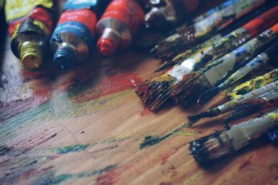 Art supplies stock