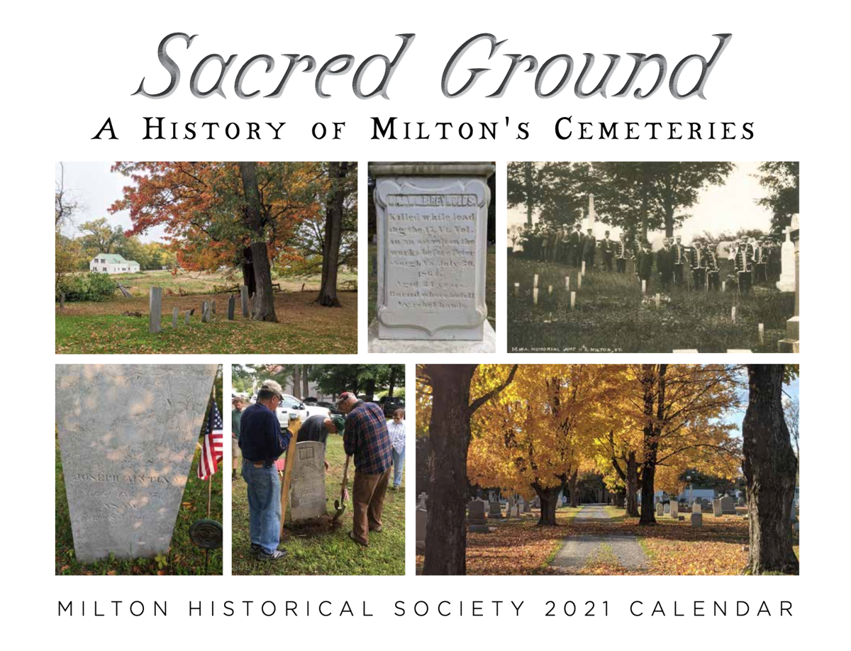 2021 Milton Historical Society Calendar