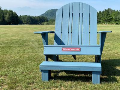 Bombardier Park chair