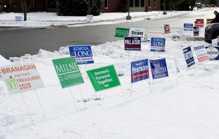 Milton Campaign Signs