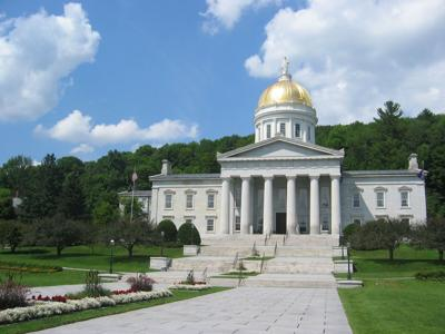 Vermont State House, Wikimedia Commons