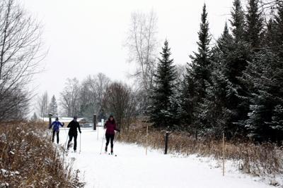 Catamount Outdoor Center Skiers