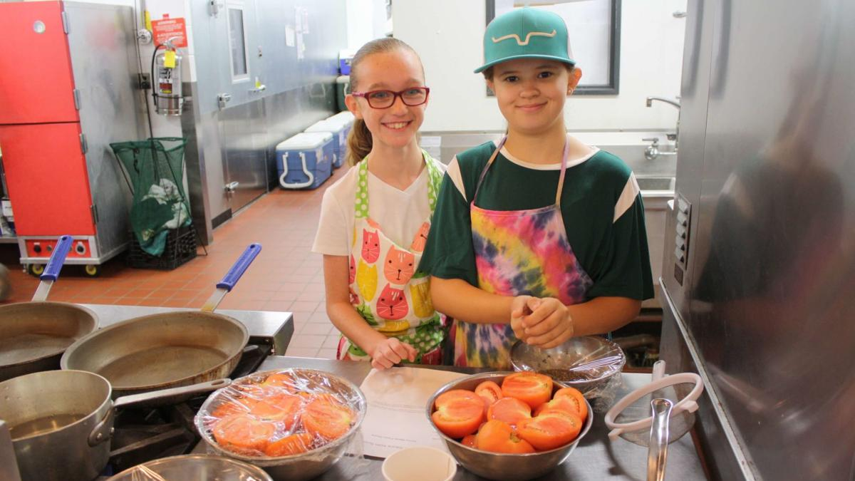 Savoring the summer:  Cooking campers prepare for school year
