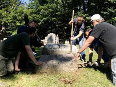 Cemetery work days 2021