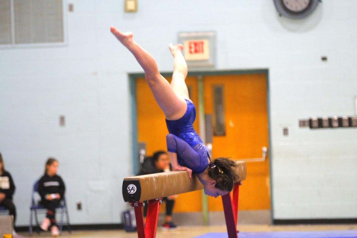 Yellow Jackets take fourth at state gymnastics championships