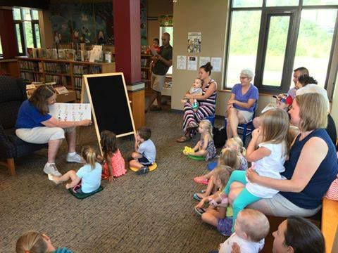 Preschool Early Literacy Story Time at Milton Public Library