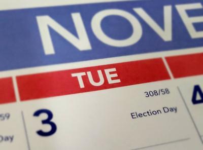 Election Day calendar