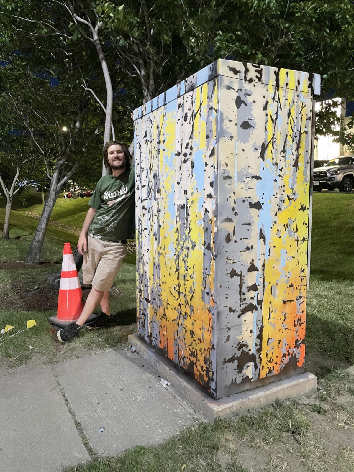 Myles Moran utility box
