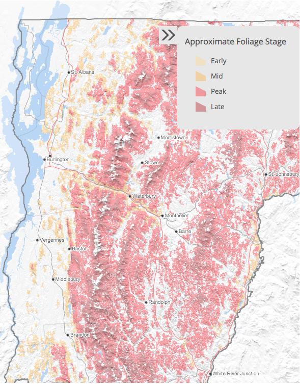 Vermont foliage prediction