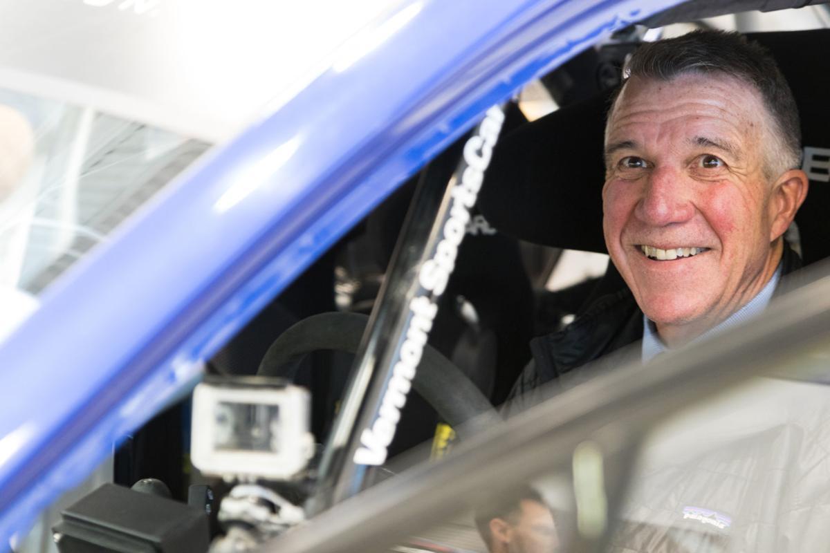 Gov. Phil Scott in Car