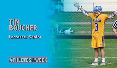 Athlete of the Week: Tim Boucher