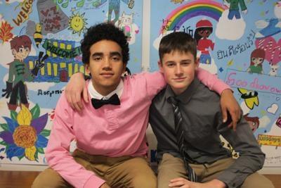 Omar Moran and Ben Godin
