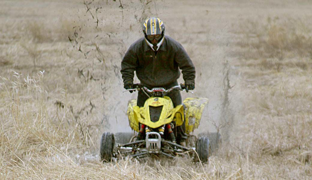 Riders pitch ATV trails