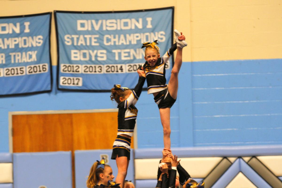 Milton sends five squads to NVAC cheer competition