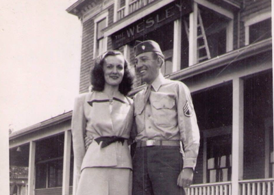 A 75th wedding anniversary celebration