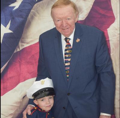 Cunningham school remembers veteran F. Beirne Lovely