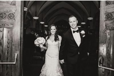 Christina Rice weds Christopher Moore