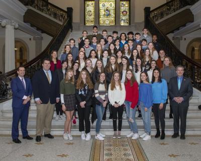 2019 MHS cross country teams honored in Boston