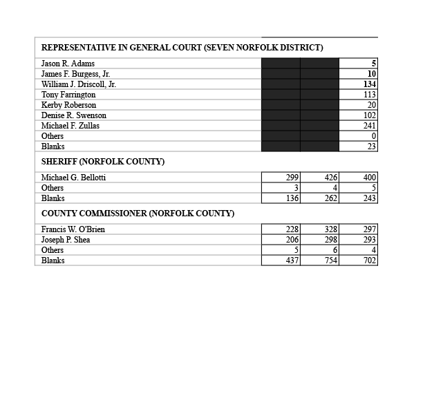 Rep. race results posted – click here to see the chart