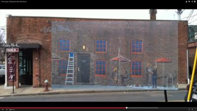 Time Lapse Video: the Abby Park Mural