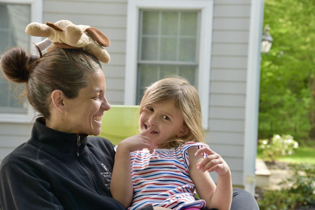 Jaime Levash and daughter Reese