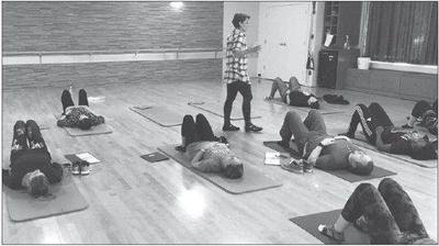 Fitness class (file photo)