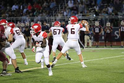 Football is one of 10 fall sports at Milton High School