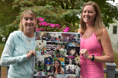 Joining Mike's 5K race/walk in Julie's honor