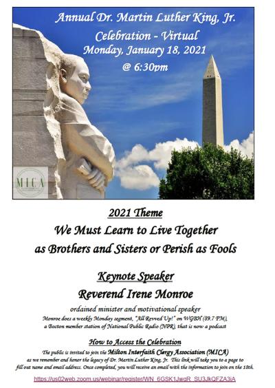 Register for virtual MLK Jr. program Jan. 18