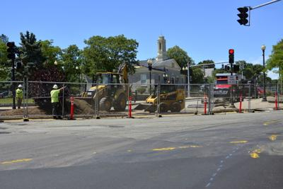 Under construction: A new look in traffic, new business plans for East Milton Square