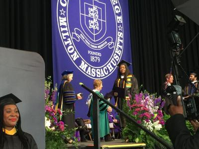Curry College graduation ceremonies