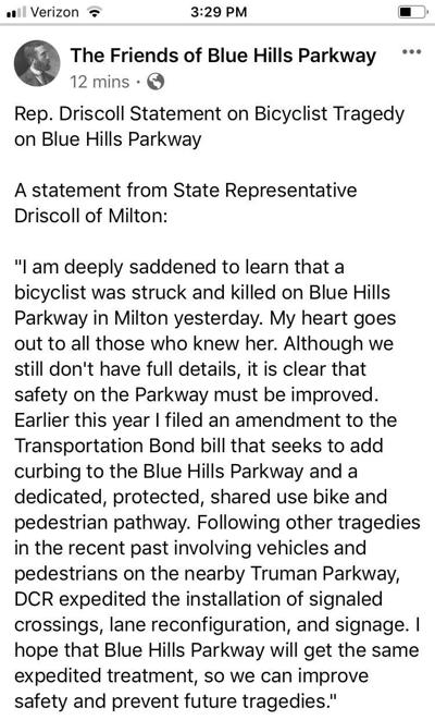 State Rep. Bill Driscoll responds