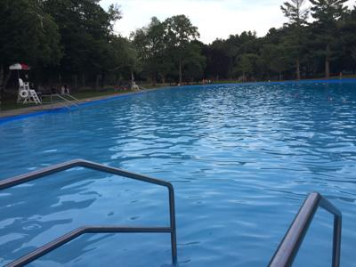 Cunningham Pond awaits swimmers and waders