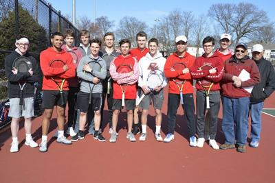 MHS Boys Tennis team