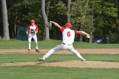 Strong pitching by MHS Wildcat Finn Doherty
