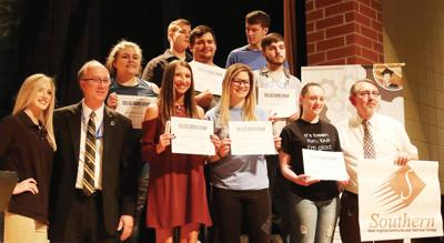 Ceremony honors students seeking further educational opportunities